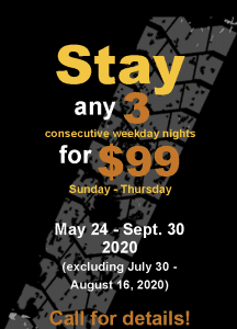 Stay 3 for $99